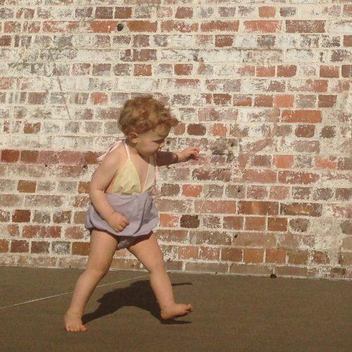 girls halter suit rompers onesie